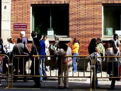 El desempleo azota muy fuerte a España