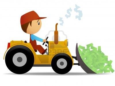 12387656-bulldozer-de-dibujos-animados-el-movimiento-de-dinero-con-conductor-de-los-trabajadores-ilustracion-